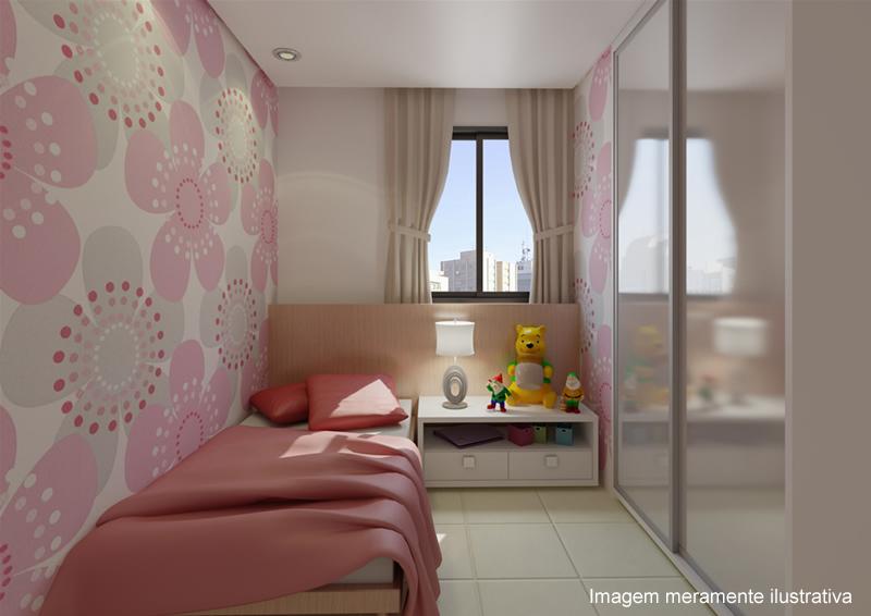 Pin quarto solteiro planejado totalmente decorado on pinterest for Apartamentos decorados pequenos